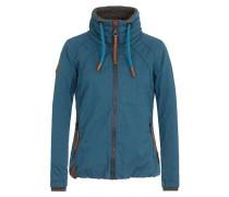 Jacket 'Tittis Galore' himmelblau / braun