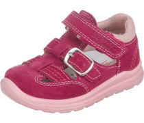Kinder Sandalen WMS-Weite M4 altrosa / rot