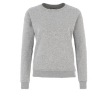 Crew-Neck Sweater graumeliert