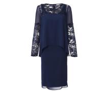Kleid-Zweiteiler blau