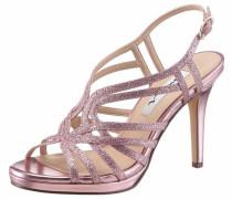 Nina High-Heel-Sandalette rosé