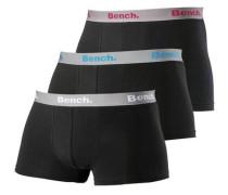 Boxer (3 Stück) schwarz