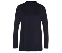 Pullover mit Turtle-Neck navy