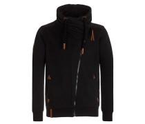 Zipped Jacket 'Jan Mopila' schwarz