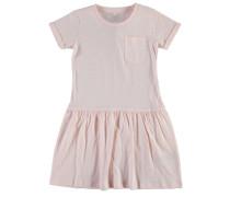 Nitvrapsi Kleid mit kurzen Ärmeln pink