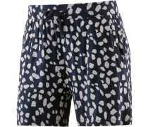 Shorts Damen navy / weiß