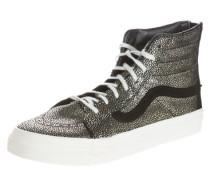 Sneaker 'SK8-Hi Slim Zip' schwarz / silber