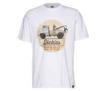 T-Shirt 'Russellville' weiß