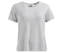 Shirt 'asia' grau / graumeliert