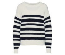 Pullover 'Dory' navy / naturweiß
