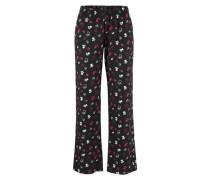 Pyjama pink / schwarz