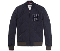 "Hilfiger Denim Jacke ""thdm MIX Quilted Puffa 13"" anthrazit"