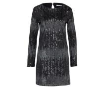 Kleid mit Pailetten 'viaya' schwarz