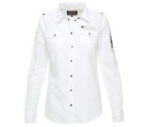 Bluse weiß / beige