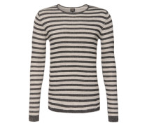 Pullover 'Bixter' beige / grau / weiß