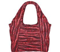 Sport Beachbag Shopper Tasche 45 cm rot