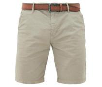 Plek Loose: Shorts mit Gürtel beige