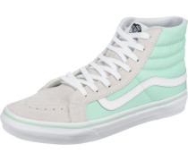 'Sk8-Hi Slim' Sneakers beige / mint