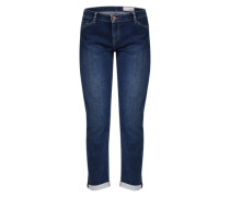 Slim Fit Hose in Denim-Optik blau