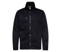 Jacke 'Powel DC overshirt l/s' dunkelblau
