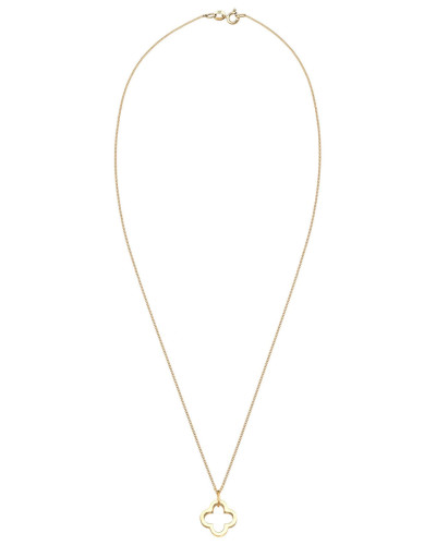 Halskette 'Kleeblatt' gold