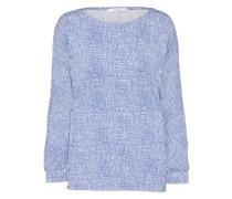 Shirt 'Sarony' blau / weiß