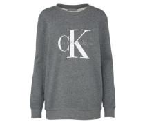 Sweater graumeliert / weiß
