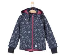 Softshell-Jacke mit Print