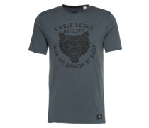 T-Shirt 'LM THE Wolf' graphit