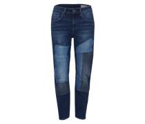 'Modern Arc 3D' Boyfriend Jeans blue denim