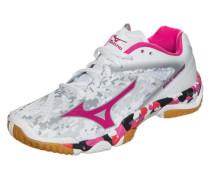 'Wave Mirage' Handballschuh pink / schwarz / weiß