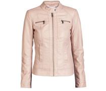 PU-Jacket Reißverschluss pink
