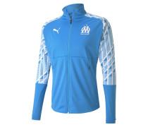 Olympique de Marseille Stadium Herren Aufwärmjacke