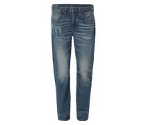 Boyfriend Jeans mit Low Waist blau