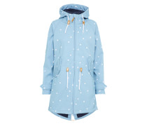 Outdoorjacke 'Island Friese' dunkelblau