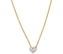 Halskette 'Petite Heart' gold
