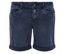 Shape Short: Twill-Bermuda nachtblau