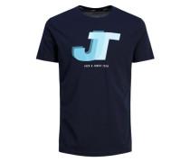 Sportliches T-Shirt blau
