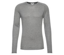 Pullover mit Cashmere-Anteil graumeliert