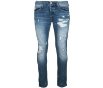 Jeans Rocco destroyed glory blue blau