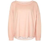 Sweatshirt Velvet Pailette beige