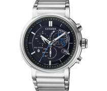 Smartwatch 'Proximity Bz1001-86E' schwarz / silber