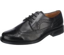Kay Business Schuhe extraweit schwarz