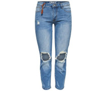 'Cille Reg Skinny Fit' Jeans Zigarettenform blue denim