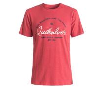 »Slub Hero Bay - T-Shirt« rot