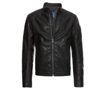 Jacke 'Fake Leather Price Starter'