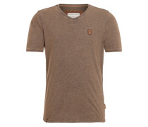 T-Shirt 'Schimpanski IV' braun