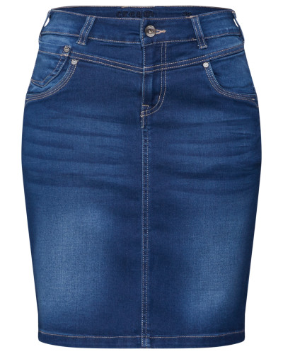 Rock 'KammaCR Denim Skirt'