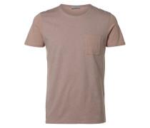 T-Shirt Rundausschnitt grau