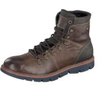 Shoes Schnür-Boot braun / dunkelbraun